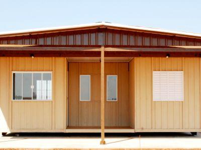 Casa container Metal Módulos 5