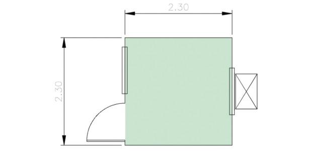 Container Habitacional Termoacústico 30mm MMTA-5-0