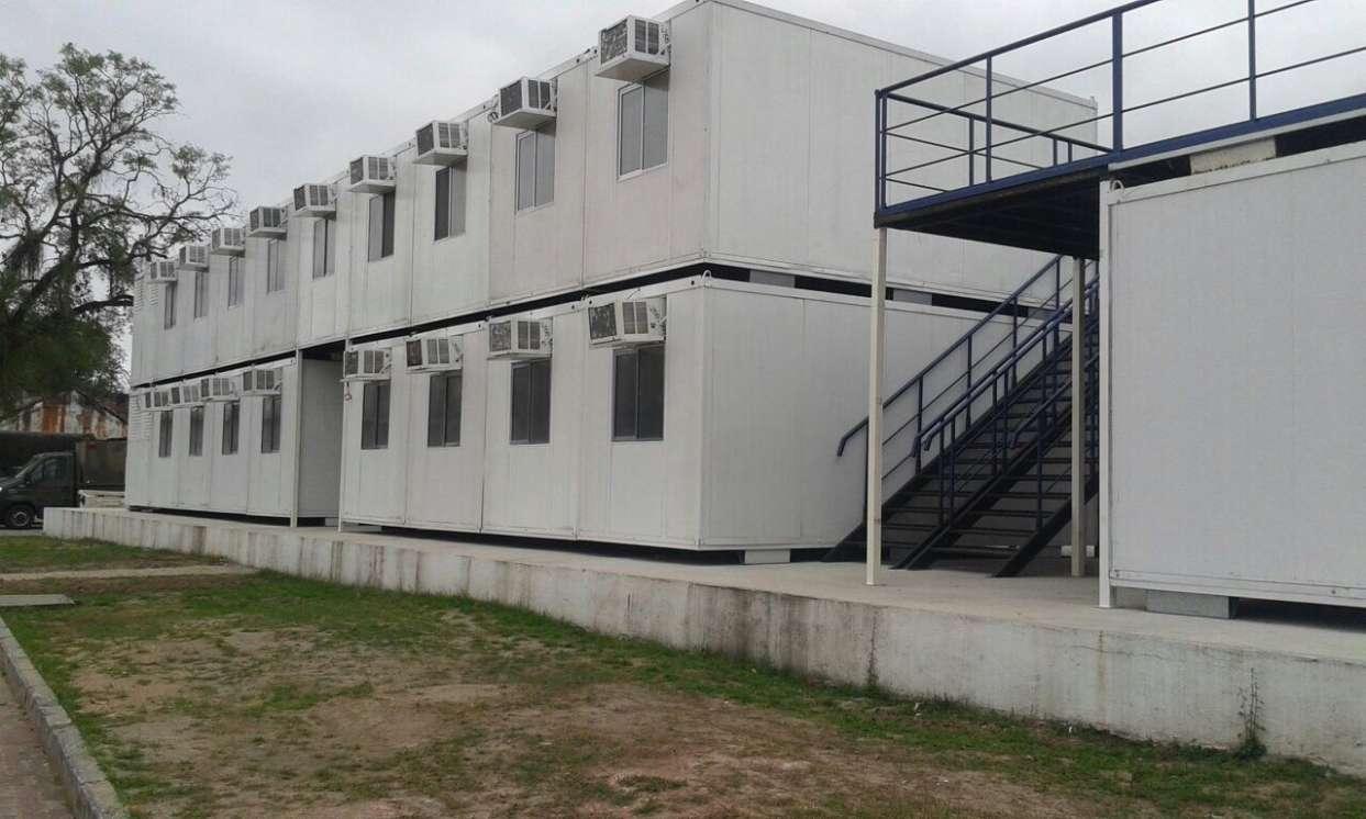 Container Metal Módulos 2