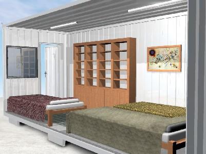 Container Habitacional Metálico 3