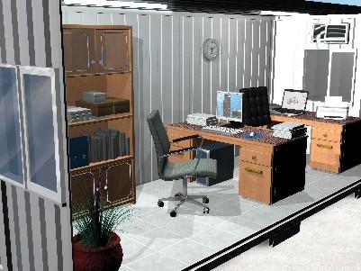 Container Habitacional Metálico 1