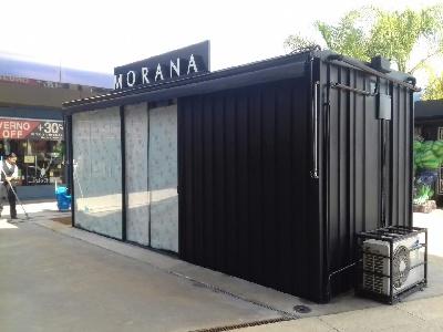 Loja Container Metal Módulos 13