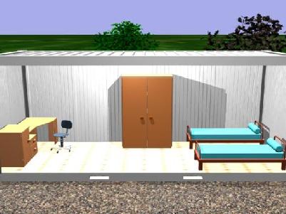 Container Habitacional Termoacústico 30mm 2